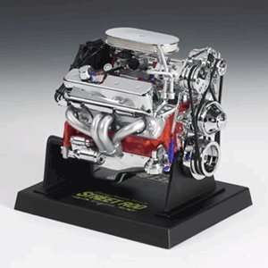 Chevy Small Block Street Rod 1/6 Replica Engine By Liberty