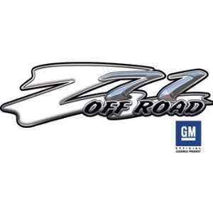 Chevy Z71 White Truck & SUV Offroad Decals Automotive
