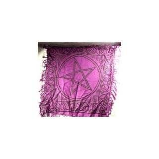 Celtic Moon Altar Cloth Scarf Wiccan Wicca Pagan Spiritual