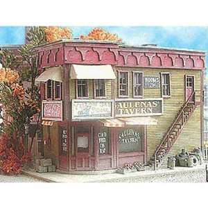 Bar Mills N Scale Kit Laser Cut Saulenas Tavern Toys & Games