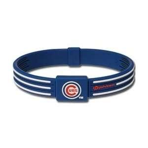 Titanium Chicago Cubs MLB Team Bracelet
