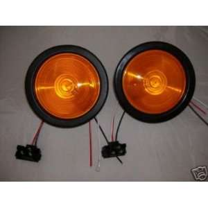 Round RV Truck Trailer Park Turn Signal Flasher Light Kits Automotive