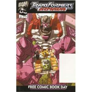 Transformers: Armada #1 Free Comic Book Day Edition May