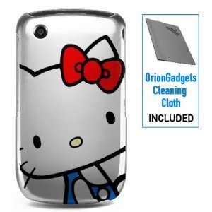 Plastic Rear Case (Hello Kitty Snout) for BlackBerry 9300