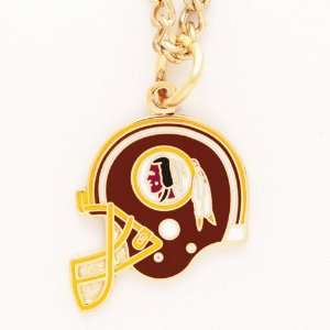Washington Redskins Nfl Helmet Necklace
