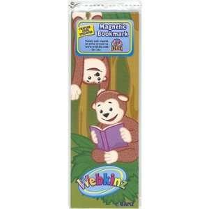 Webkinz Magnetic Bookmark   MONKEY Toys & Games