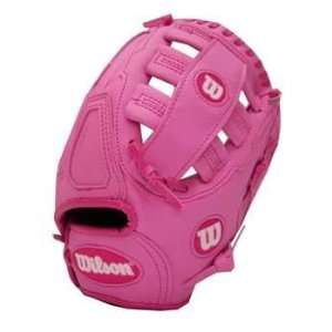 Wilson Pink 10.5 Baseball Glove:  Sports & Outdoors
