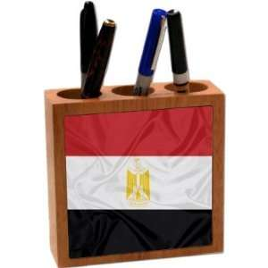 com Rikki KnightTM Egypt Flag 5 Inch Tile Maple Finished Wooden Tile