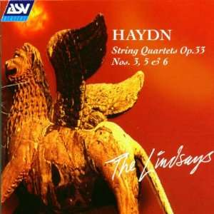 Haydn String Quartets Op. 33 Nos. 3, 5 & 6 Music