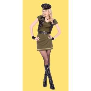 Woman Funky Fabric Army Girl Small 6 8 Toys & Games