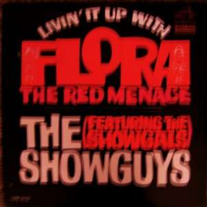 flora the red menace LP ORIGINAL CAST Music