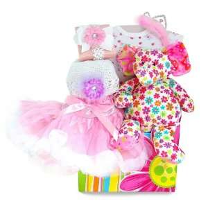 The Princess & The Elephant Baby Girl Gift Basket Baby