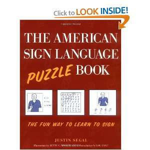 The American Sign Language Puzzle Book and over one million other