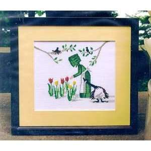 Tulip Time   Cross Stitch Pattern Arts, Crafts & Sewing