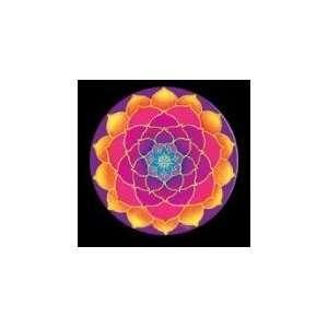 Mandala Golden Lotus Window Decal Sticker Everything