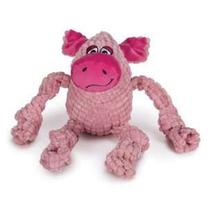 Zanies Bungee Bunch Dog Toy, Pig: Pet Supplies
