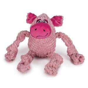Zanies Bungee Bunch Dog Toy, Pig: Pet Supplies