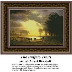 The Buffalo Trails, Counted Cross Stitch Patterns PDF