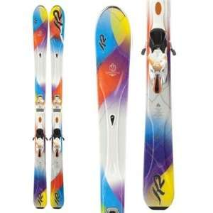 K2 SuperStitious Skis + Marker ERS 11.0 TC Bindings Women
