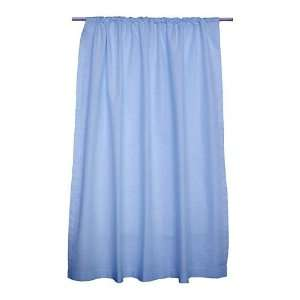 Sleeping Partners Blue Solid Curtains