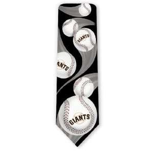 San Francisco Giants Curve Ball Neckties Sports