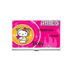 hello kitty aries Business Card Holder