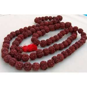17 mm 17mm Rudraksha Rudraksh Japa Mala Rosary 54 +1 Bead