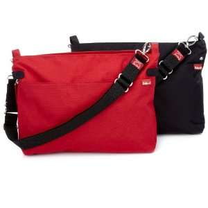 Babymel X2 Black/Red Diaper Bag: Baby