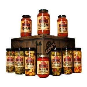Capos Capone Family Secret Prohibition Gift Crate  Grocery