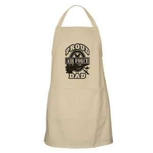 Apron Khaki Proud Air Force Dad Jets Everything Else