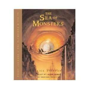 The Sea of Monsters (Percy Jackson) [AUDIOBOOK/AUDIO CD