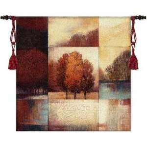Tapestry Wall Hanging Persimmon Forest [Kitchen]