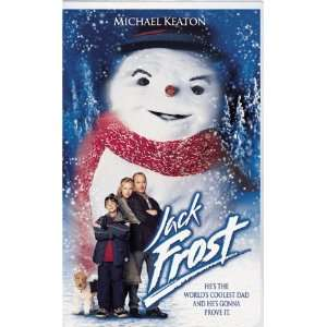 Jack Frost [VHS] Michael Keaton, Kelly Preston, Joseph
