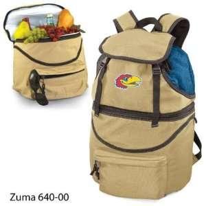 NIB Kansas Jayhawks KU NCAA Insulated Cooler Backpack