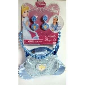 Disney Princess Cinderella Glamour Bag Set   Necklace