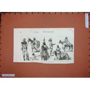 1884 Expeditionary Forces Soldiers War Horse Camel