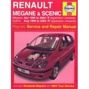 Renault Megane and Scenic (99 02) Service and Repair Manual (Haynes
