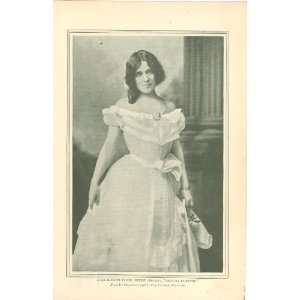 1899 Print Actress Julia Marlowe Everything Else