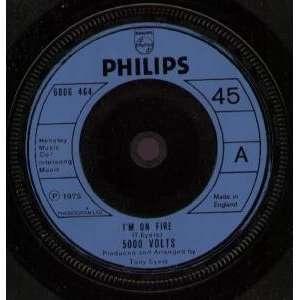IM ON FIRE 7 INCH (7 VINYL 45) UK PHILIPS 1975 Music