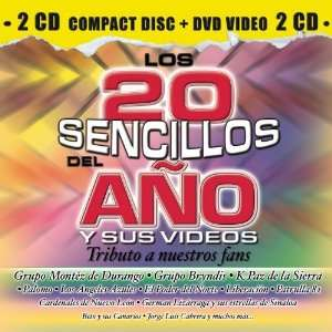 Los 20 Sencillos del Ano Various Artists Music
