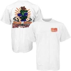 Florida Gators White King of the Castle T shirt