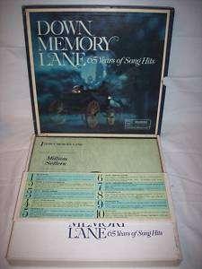 Down Memory Lane 65 Years Of Hit Songs 10LP Box Set NM+