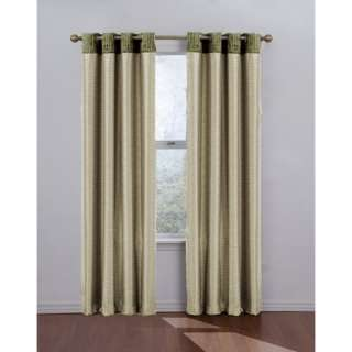 Eclipse Curtains Venetian Blackout Grommet Window Drape in Natural