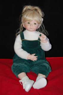 Colin Porcelain Doll by Dianna Effner Expressions 1998 |