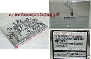 Korea Super Junior Sorry Taiwan Ltd CD+DVD