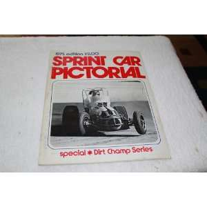 Sprint Car Pictorial Special Dirt Champ Series Gene Crucean Books