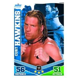 Curt HAWKINS Smackdown Slam Attax MAYHEM Trading Card: .co.uk