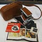 Vintage Polaroid SX 70 Land Camera Manuals Vintgage AA Batteries