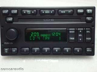 F250 F350 Escape 6 CD DISC CHANGER RADIO 98 99 2000 01 02 03 04