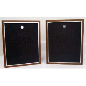 Vintage Motorola Bookshelf Speakers: Electronics